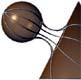 nodolo: Raccordo tangenziale tra sfera e cono di rotazione esterni tra loro