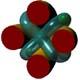 raccordo tra toriche di rotazione uguali e ad assi perpedicolari