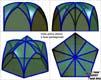 Volta gotica sferica a base pentagonale